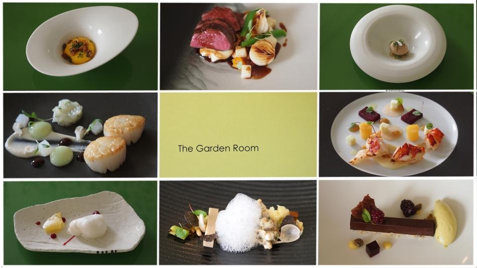 Stoke Place Garden Room Tasting Menu